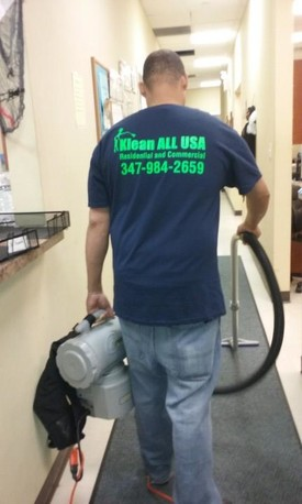 Office cleaning in Ditmars Steinway NY by Klean All USA Inc.