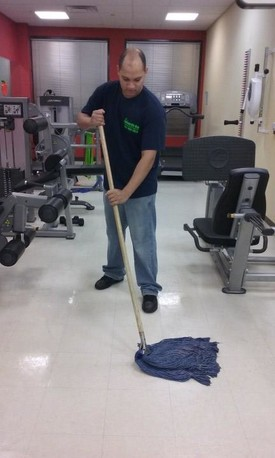 Cleaning at Physical Therapy Center in Queens, NY